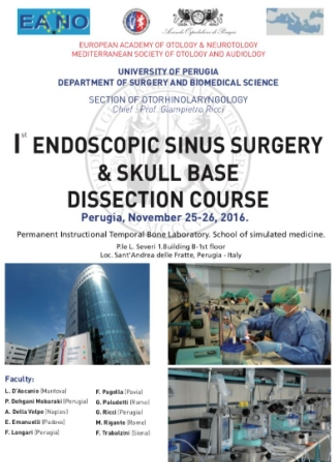 I Endoscopic Sinus Surgery & Skull Base Dissection Course